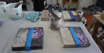 Comparison of paint strippers used to remove coatings or graffiti from concrete